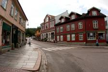 Iela Drøbak pilsētiņā
